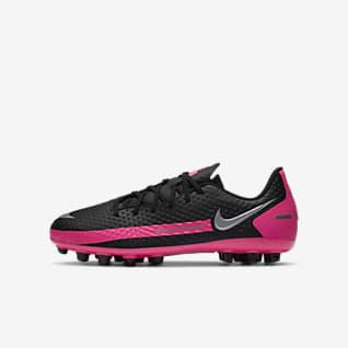 Nike Jr. Phantom GT Academy AG Fodboldstøvle til små/store børn (kunstgræs)