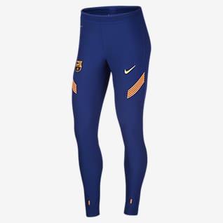 Nike VaporKnit FC Barcelona Strike Dámské fotbalové kalhoty