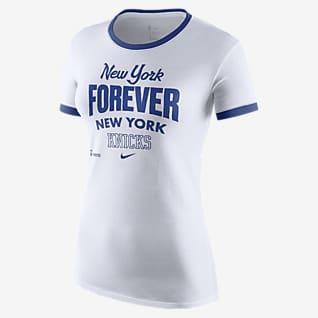 Knicks Mantra Playera Nike Dri-FIT de la NBA para mujer