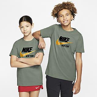 Nike Sportswear New York Playera para niños talla grande