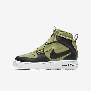 Piger Air Force 1 Sko. Nike DK