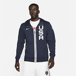 Nike Team USA Therma Flex Showtime Sweat à capuche pour Homme