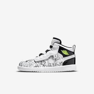 Jordan 1 Mid SE Little Kids' Shoes