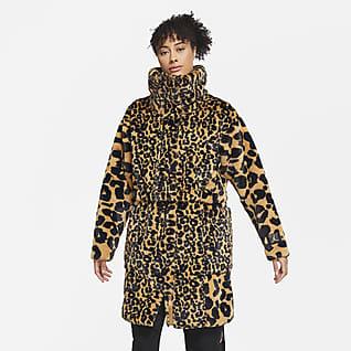 Jordan Court-To-Runway Women's Faux Fur Jacket