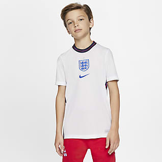 England 2020 Stadium Home Older Kids' Football Shirt