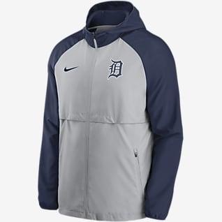 Nike Logo Essential (MLB Detroit Tigers) Men's Hooded Jacket