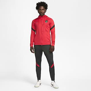 Atlético Madrid Strike Stickad fotbollstracksuit Nike Dri-FIT för män