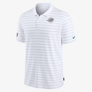 Nike Dri-FIT Sideline Victory Coaches (NFL Miami Dolphins) Men's Polo
