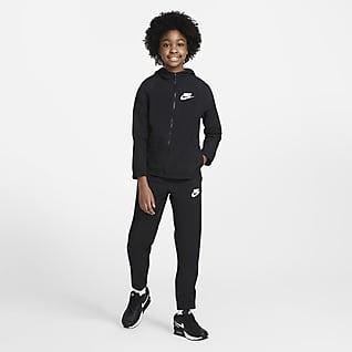Nike Sportswear Dres z tkaniny dla dużych dzieci