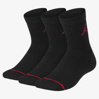 Jordan Cushioned Calcetines largos para niños talla grande (3 pares)