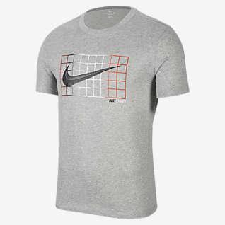 """Nike Dri-FIT """"Just Do It"""" เสื้อยืดบาสเก็ตบอลผู้ชาย"""