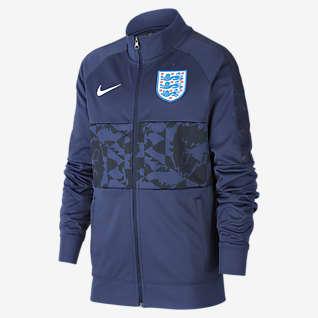 England Fotballjakke til store barn