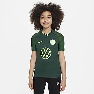 VfL Wolfsburg 2021/22 Stadium Away Older Kids' Football Shirt