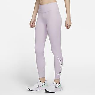Nike Swoosh Run 女子跑步紧身裤
