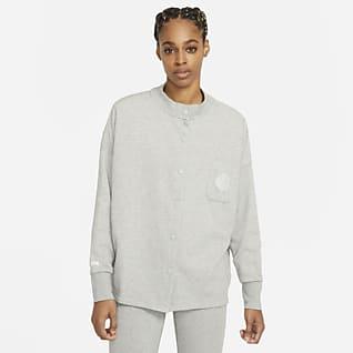 Nike Sportswear Femme Женский кардиган из материала френч терри