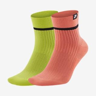 Nike SNEAKR Sox Quarter Vristhöga strumpor (2 par)