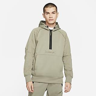 Nike Sportswear Air Max Fleece-Hoodie mit Halbreißverschluss für Herren