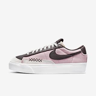 Nike Blazer Low Platform Sko til kvinder