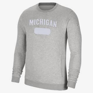 Nike College Club Fleece (Michigan) Men's Sweatshirt