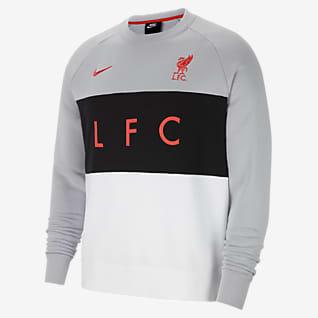Liverpool FC Pánská flísová mikina skulatým výstřihem