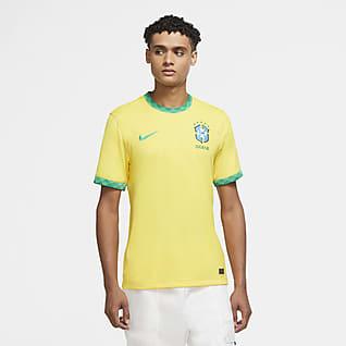 Brésil 2020 Stadium Domicile Maillot de football pour Homme