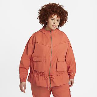 Nike Sportswear Icon Clash Női kabát (plus size)