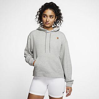 NikeCourt Sweat à capuche de tennis pour Femme