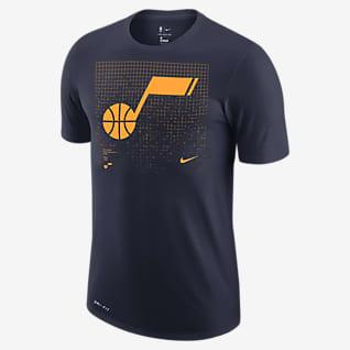 Utah Jazz Logo Grid Men's Nike Dri-FIT NBA T-Shirt
