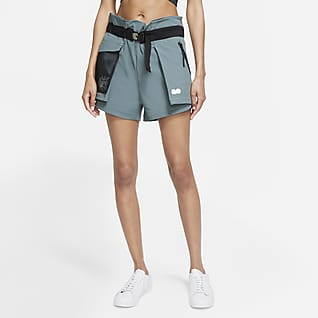 Naomi Osaka Damen-Tennisshorts im Utility-Design