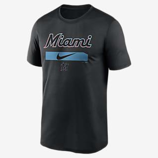 Nike Dri-FIT Swoosh Legend (MLB Miami Marlins) Men's T-Shirt
