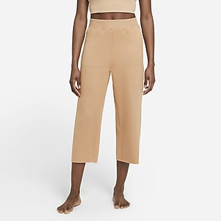 Nike Yoga Luxe Women's Cropped Fleece Trousers