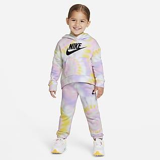 Nike Sportswear Club Fleece Conjunto de sudadera con capucha y pantalones para bebé