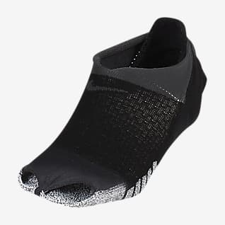 NikeGrip Studio Dámské ponožky s otevřenou špičkou