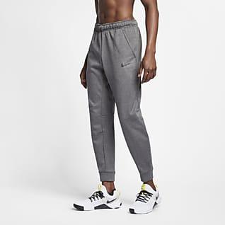 Nike Therma Мужские брюки с зауженным книзу кроем для тренинга
