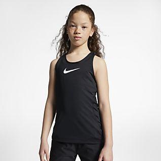 Nike Pro Майка для девочек школьного возраста