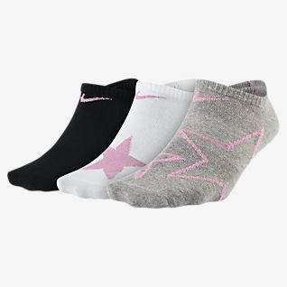 Nike Everyday 大童圖案隱形襪 (3 雙)