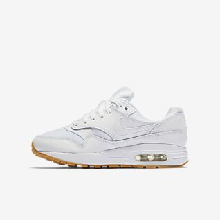 Girls Synthetic Air Max 1 Shoes. Nike IE