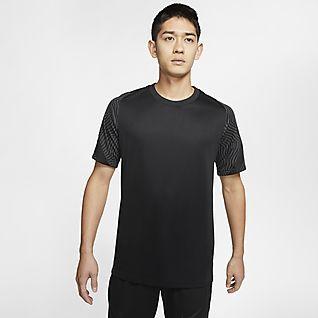 Nike Dri-FIT Strike Kortærmet fodboldtrøje til mænd