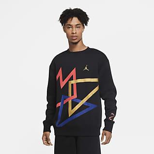 Jordan Sport DNA 男款 Fleece 貼身圓領上衣