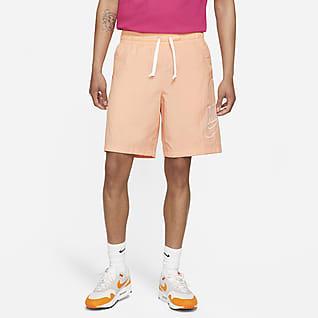 Nike Sportswear Alumni Męskie swobodne spodenki z tkaniny