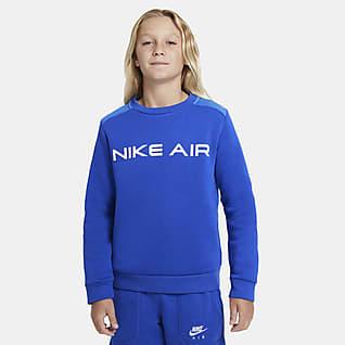 Nike Air Crewtrøje til større børn (drenge)