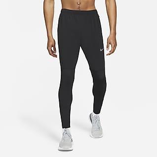 Nike Dri-FIT UV Challenger Pánské tkané hybridní běžecké kalhoty
