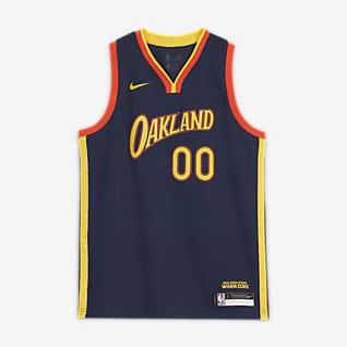Stephen Curry Warriors City Edition Maillot Nike NBA Swingman pour Enfant plus âgé