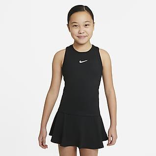 NikeCourt Dri-FIT Victory Big Kids' (Girls') Tennis Tank