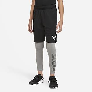 Nike Mallas de entrenamiento con estampado gráfico para niño talla grande