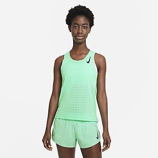 Nike AeroSwift Женская беговая майка