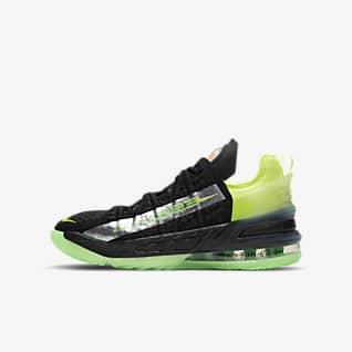 LeBron 18 Big Kids' Basketball Shoe