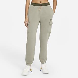 Nike Sportswear Cargobukse i fleece til dame