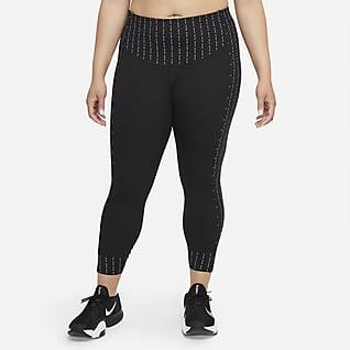 Nike Dri-FIT One Luxe Icon Clash Women's Mid-Rise 7/8 Leggings (Plus Size)