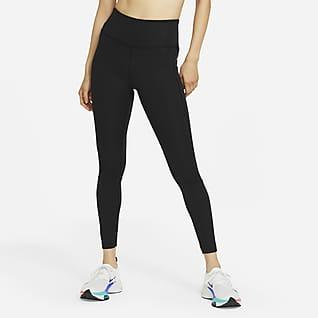 Nike Epic Fast Löparleggings med mellanhög midja för kvinnor